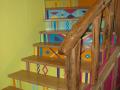 Habillage marches d'escalier avec du chêne