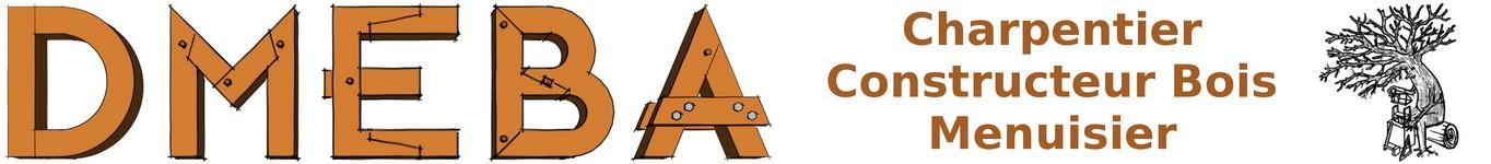 DMEBA Charpentier Constructeur Bois Menuisier Logo
