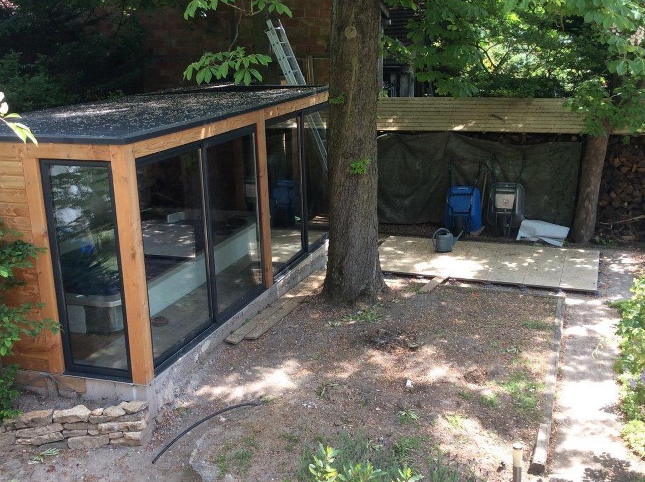 Abris En Bois A Monter kit pour un abri de spa en douglas à monter soi-même – dmeba